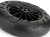 Vacuum cast buggy wheel